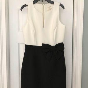 Kate Spade black/white cocktail dress. Worn once.
